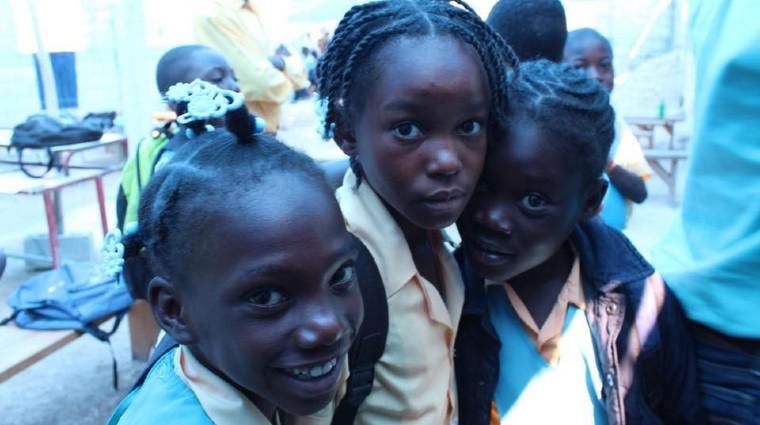 friends in Haiti